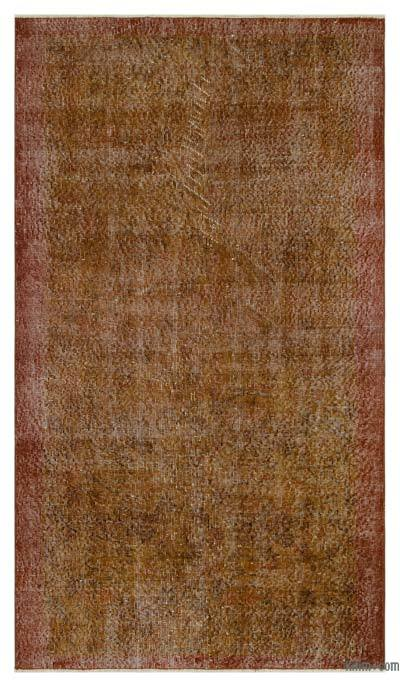 "Over-dyed Turkish Vintage Rug - 3'9"" x 6'8"" (45 in. x 80 in.)"