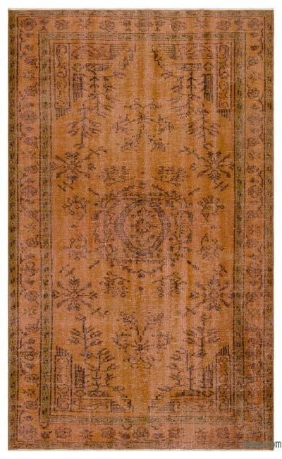 "Over-dyed Turkish Vintage Rug - 5' 1"" x 8' 1"" (61 in. x 97 in.)"
