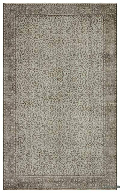 "Over-dyed Turkish Vintage Rug - 5' 6"" x 9'  (66 in. x 108 in.)"