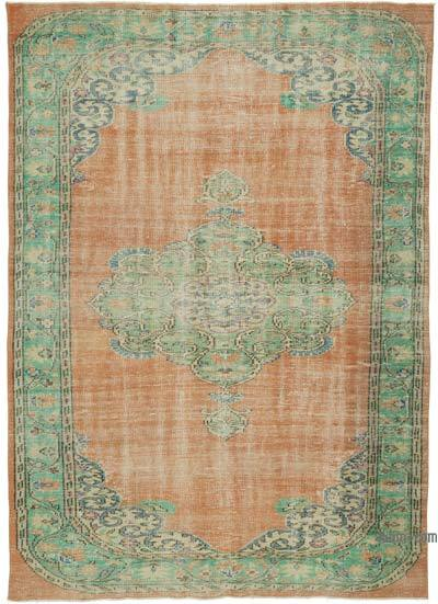 """Turkish Vintage Area Rug - 6'4"""" x 8'11"""" (76 in. x 107 in.)"""