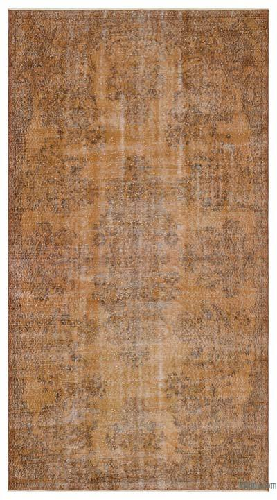 "Over-dyed Turkish Vintage Rug - 4' 11"" x 9' 3"" (59 in. x 111 in.)"