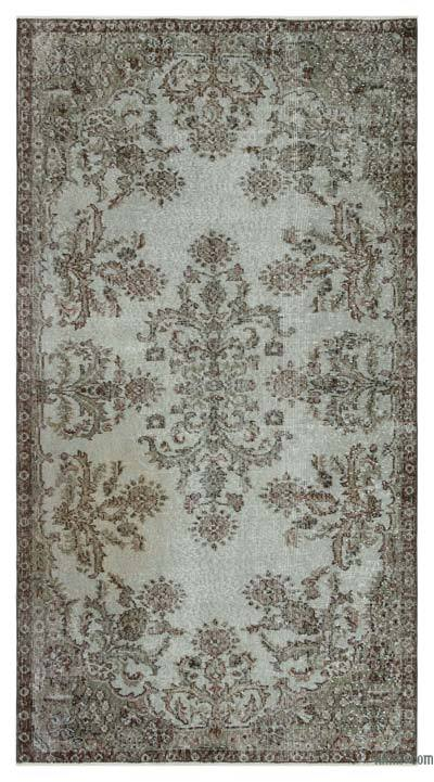 "Over-dyed Turkish Vintage Rug - 3' 10"" x 7' 1"" (46 in. x 85 in.)"