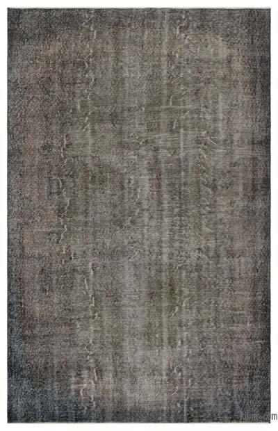 Alfombra Turca Vintage Sobre-teñida - 171 cm x 271 cm