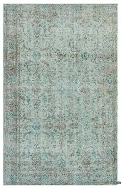 "Over-dyed Turkish Vintage Rug - 5' 1"" x 8' 2"" (61 in. x 98 in.)"