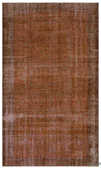 "Over-dyed Turkish Vintage Rug - 6'4"" x 10'8"" (76 in. x 128 in.)"
