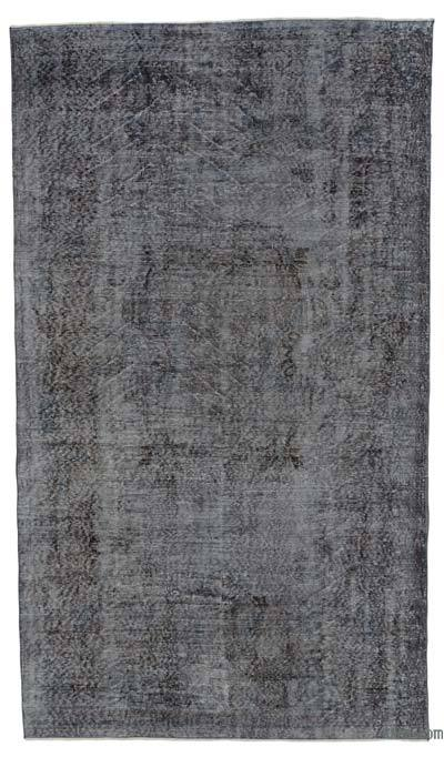 "Over-dyed Turkish Vintage Rug - 5'3"" x 9'1"" (63 in. x 109 in.)"