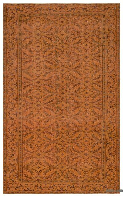 "Over-dyed Turkish Vintage Rug - 6'2"" x 10'1"" (74 in. x 121 in.)"