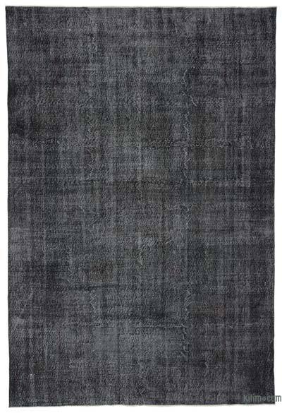 "Over-dyed Turkish Vintage Rug - 7'3"" x 10'7"" (87 in. x 127 in.)"