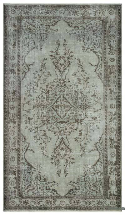 "Over-dyed Turkish Vintage Rug - 5' 5"" x 9' 10"" (65 in. x 118 in.)"