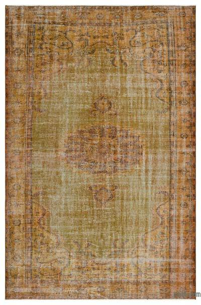 "Over-dyed Turkish Vintage Rug - 5'10"" x 9' (70 in. x 108 in.)"