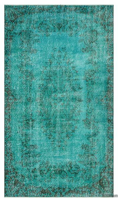 "Over-dyed Turkish Vintage Rug - 3' 11"" x 6' 9"" (47 in. x 81 in.)"