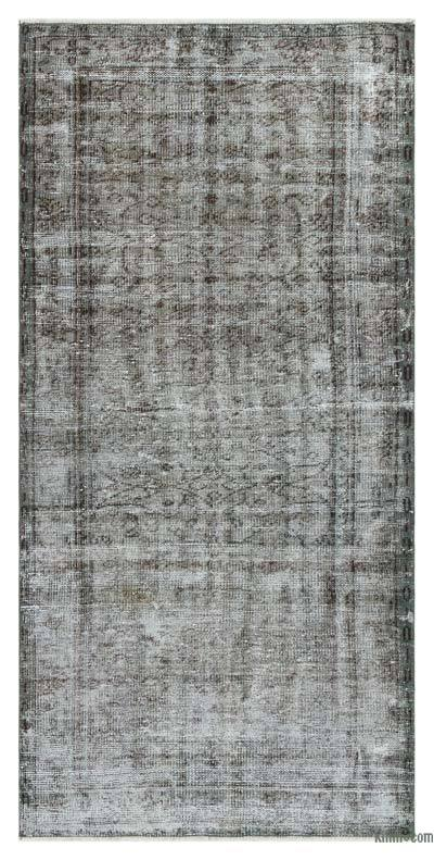 "Over-dyed Turkish Vintage Rug - 3' 3"" x 6' 8"" (39 in. x 80 in.)"