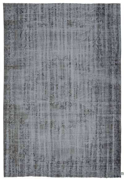 "Over-dyed Turkish Vintage Rug - 6' x 8'9"" (72 in. x 105 in.)"
