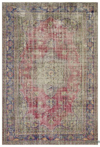 """Turkish Vintage Area Rug - 6'11"""" x 10'2"""" (83 in. x 122 in.)"""