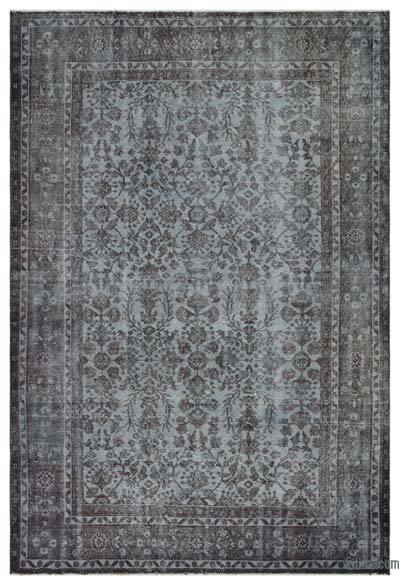 "Over-dyed Turkish Vintage Rug - 5'10"" x 8'8"" (70 in. x 104 in.)"