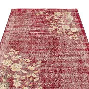 """Vintage Turkish Hand-Knotted Rug - 3' 10"""" x 6' 10"""" (46 in. x 82 in.) - K0044149"""