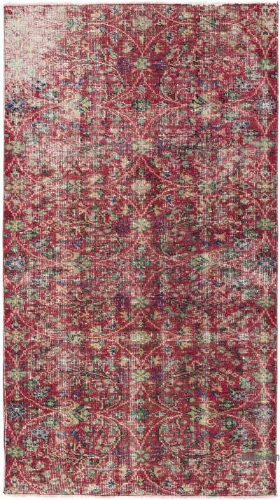 "Turkish Vintage Area Rug - 3'7"" x 6'6"" (43 in. x 78 in.)"