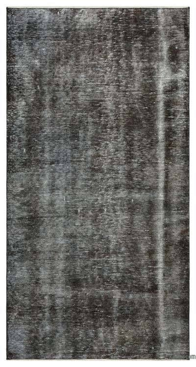 "Over-dyed Turkish Vintage Rug - 3' 4"" x 6' 7"" (40 in. x 79 in.)"