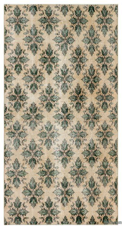 "Turkish Vintage Area Rug - 3'6"" x 6'7"" (42 in. x 79 in.)"