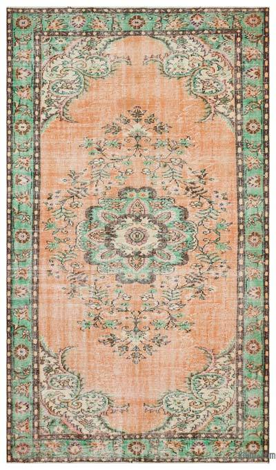 """Turkish Vintage Area Rug - 6'2"""" x 10'4"""" (74 in. x 124 in.)"""