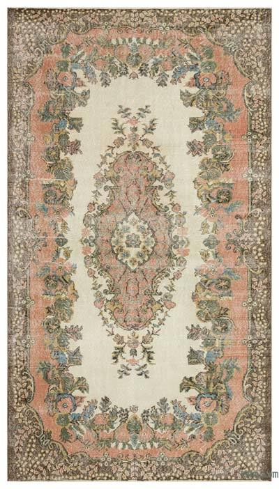 "Turkish Vintage Area Rug - 5'7"" x 9'11"" (67 in. x 119 in.)"