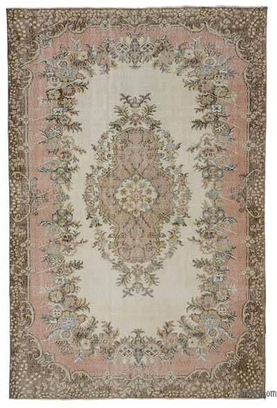 """Turkish Vintage Area Rug - 6'4"""" x 9'9"""" (76 in. x 117 in.)"""