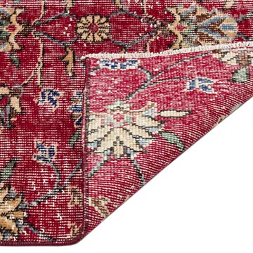 """Vintage Turkish Hand-Knotted Rug - 5' 2"""" x 8' 6"""" (62 in. x 102 in.) - K0044224"""