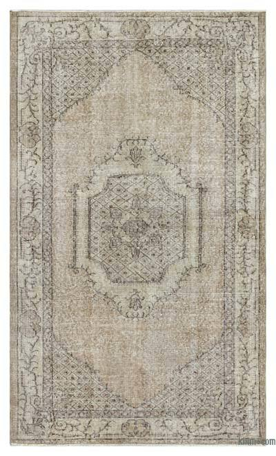 "Over-dyed Turkish Vintage Rug - 3'11"" x 6'7"" (47 in. x 79 in.)"