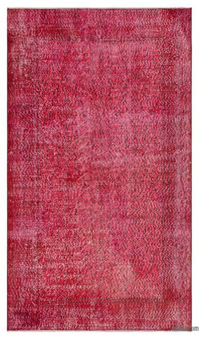 "Over-dyed Turkish Vintage Rug - 3'11"" x 6'8"" (47 in. x 80 in.)"