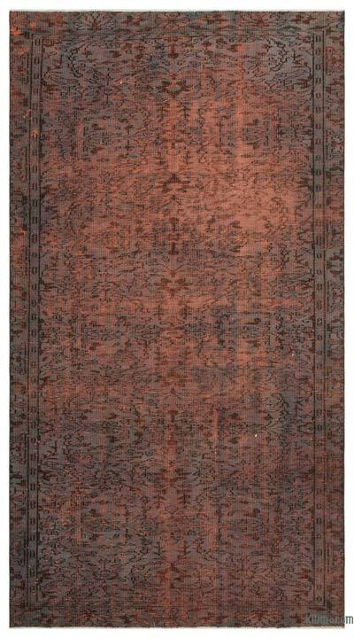 "Over-dyed Turkish Vintage Rug - 5'3"" x 9'9"" (63 in. x 117 in.)"