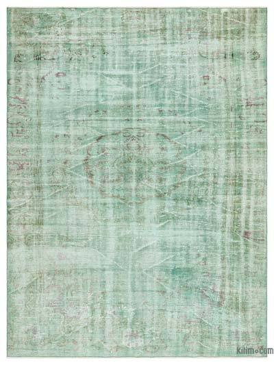 """Over-dyed Turkish Vintage Rug - 5'9"""" x 7'8"""" (69 in. x 92 in.)"""