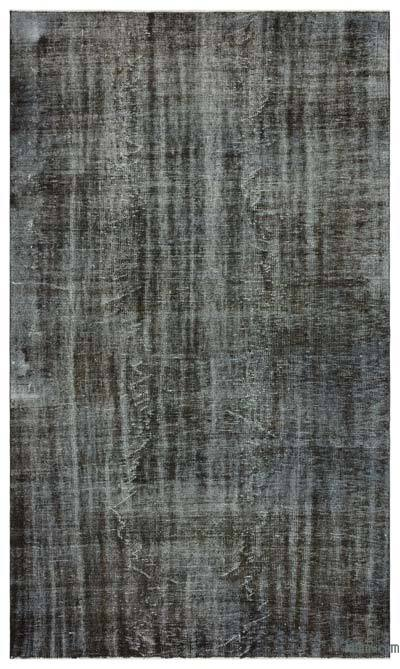 "Over-dyed Turkish Vintage Rug - 5'9"" x 9'9"" (69 in. x 117 in.)"