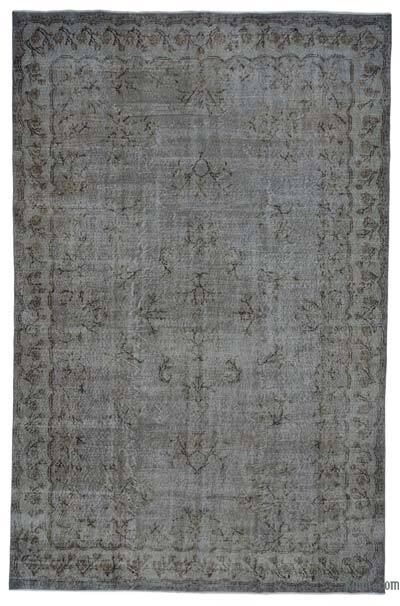 "Over-dyed Turkish Vintage Rug - 7'1"" x 10'9"" (85 in. x 129 in.)"