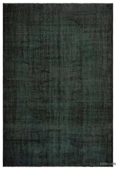 "Over-dyed Turkish Vintage Rug - 5'9"" x 8'6"" (69 in. x 102 in.)"