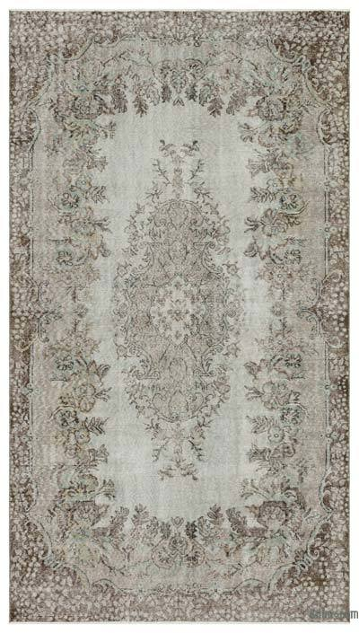 "Over-dyed Turkish Vintage Rug - 5'9"" x 10'1"" (69 in. x 121 in.)"