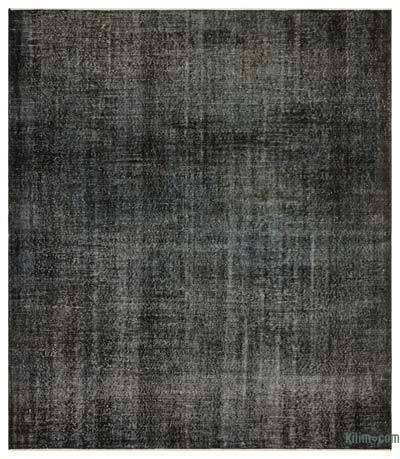 "Over-dyed Turkish Vintage Rug - 7'1"" x 8'1"" (85 in. x 97 in.)"