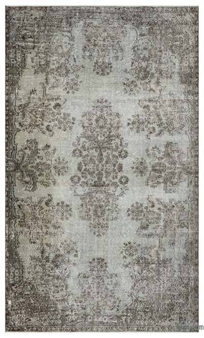 "Over-dyed Turkish Vintage Rug - 5'9"" x 9'4"" (69 in. x 112 in.)"