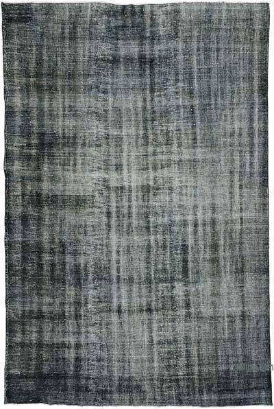 "Over-dyed Turkish Vintage Rug - 6'  x 9' 1"" (72 in. x 109 in.)"