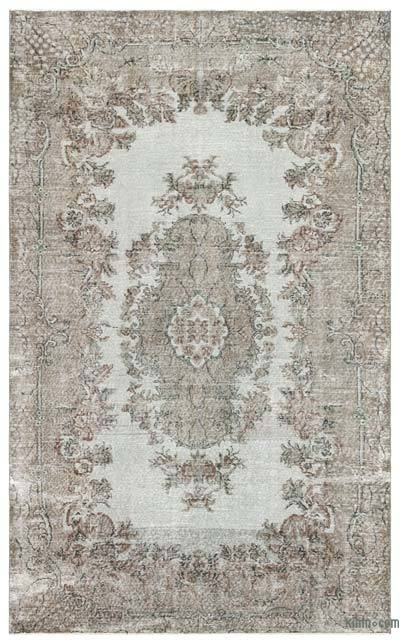 "Over-dyed Turkish Vintage Rug - 6'6"" x 10'6"" (78 in. x 126 in.)"