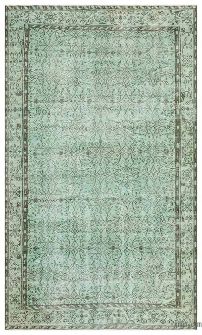 "Over-dyed Turkish Vintage Rug - 6' x 10'2"" (72 in. x 122 in.)"