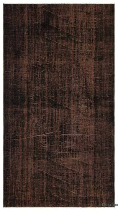 "Over-dyed Turkish Vintage Rug - 4'11"" x 9'3"" (59 in. x 111 in.)"