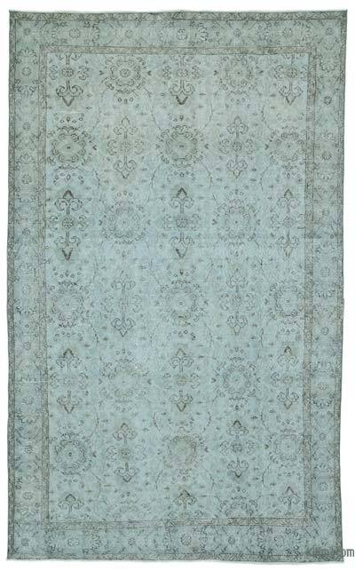 "Over-dyed Turkish Vintage Rug - 5' 11"" x 9' 8"" (71 in. x 116 in.)"