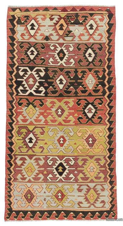 Alfombra Vintage Konya Kilim - 140 cm x 268 cm