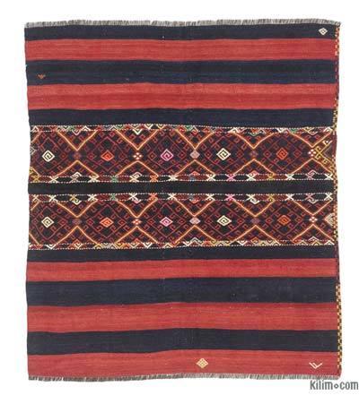 Vintage Adana Kilim Rug