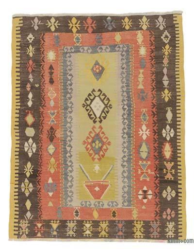 Alfombra Kayseri Kilim Vintage - 137 cm x 173 cm