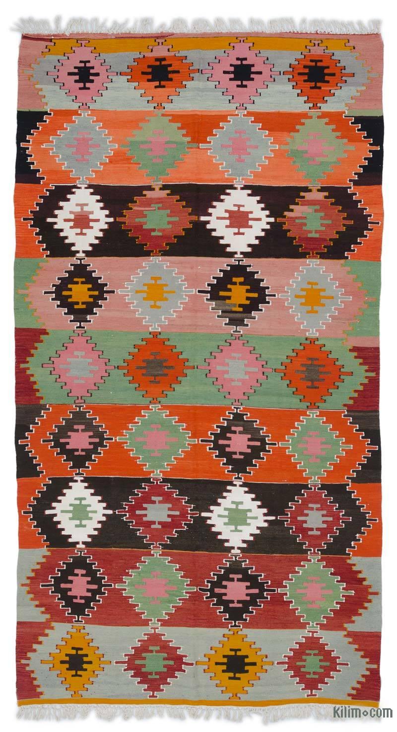 Çok Renkli Sivas Kilimi - 180 cm x 333 cm - K0044434