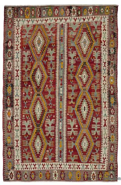 Alfombra Vintage Konya Kilim