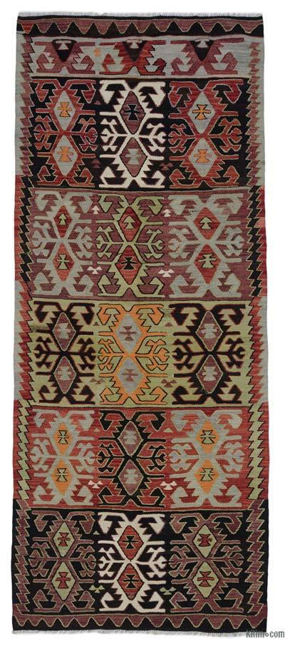 """Vintage Konya Kilim Rug - 4' 6"""" x 10' 5"""" (54 in. x 125 in.)"""