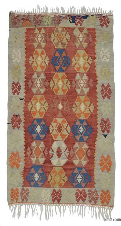 Alfombra Vintage Ushak Kilim