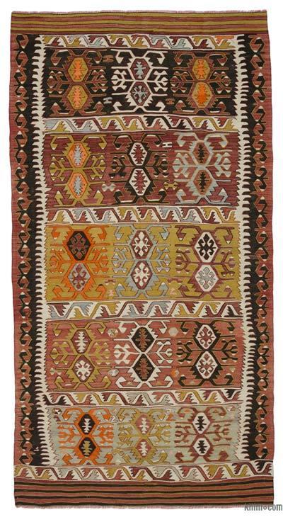 """Vintage Konya Kilim Rug - 5'  x 9' 5"""" (60 in. x 113 in.)"""